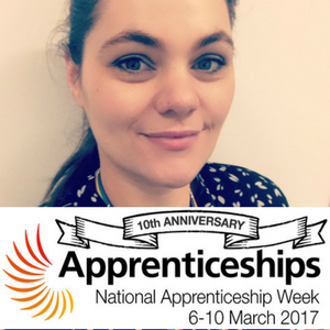 Apprenticeship Week: Claire's story