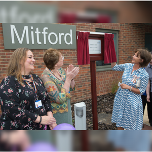 Duchess of Northumberland visits Northgate Hospital