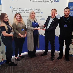 Trust receives an Investors in Apprenticeships Award