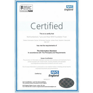 Patient Information Centre receive national recognition