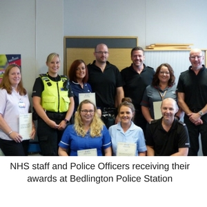 Unique mental health partnership recognised by Police service