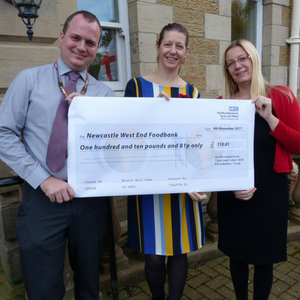 North East NHS Trust helps local foodbanks