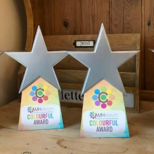 Sparkly new colourful awards
