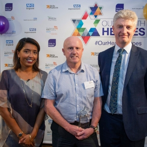 Recognition of long service to the NHS