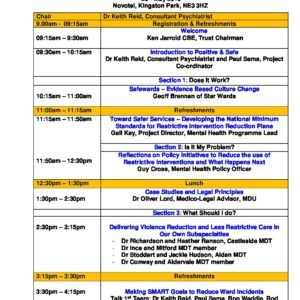 Positive and Safe Programme | Northumberland, Tyne and Wear