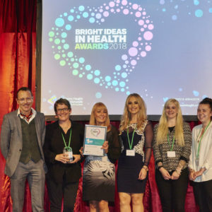Newcastle's Recovery College Collective wins Bright Ideas in Health Award