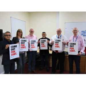 North East NHS Trust joins national LGBT charity Stonewall Diversity Champion programme for LGBT inclusion