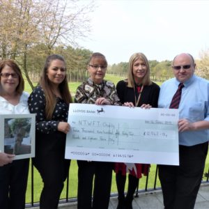 Charity golf weekend raises thousands for North East hospital