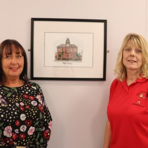 Artist puts Blyth landmarks in the frame for local NHS clinic