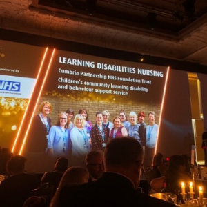 Children's Learning Disability Service receives prestigious Nursing Times award