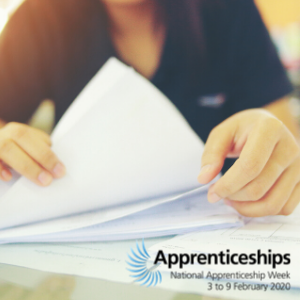 """You really feel like you're part of the team"" – Danielle's story, Apprenticeships Week 2020"