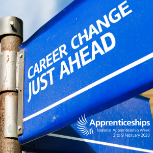 """Apprenticeships aren't just for people fresh out of school!"" – Kelly's story, Apprenticeships Week 2020"