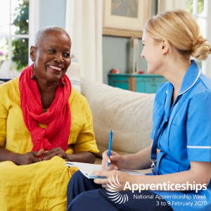 Registered Nurse Degree Apprentices share their stories for National Apprenticeships Week 2020