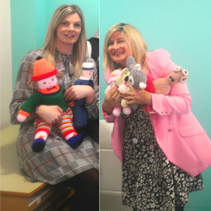 Children's mental health service hands out teddies to comfort young people