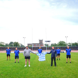 Rugby rivalries set aside to raise £10,000 for mental health ward