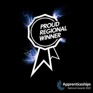 Apprenticeships team win regional award