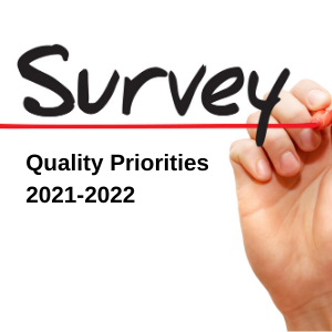 Quality Priorities Survey – have your say
