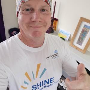 Runners tackle world's biggest half-marathon for The SHINE Fund