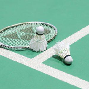 Service user badminton group in full swing
